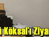 TİSKİ Genel Müdürü Köksal'ı Ziyaret Etti
