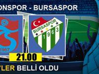 Trabzonspor-Bursaspor