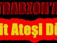 Trabzon'a Şehit ateşi düştü. Çaykara'lı Şehit Özel Harekatçı Ahmet Çamur