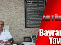 Ali Türen Öztürk'ten Kurban Bayramı Mesajı