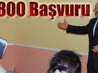 Üniversiteye ücretsiz hazırlık kursuna 800 başvuru