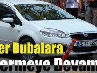 Sürücüler Dubalara Zarar Vermeye Devam Ediyor