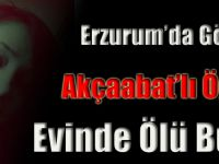 Erzurum'da Akçaabatlı Öğretmen Evinde Ölü Bulundu