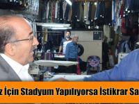 Trabzonspor'umuz için stadyum yapılıyorsa İstikrar sayesinde yapılıyor