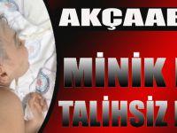 Akçaabat'ta Minik Kızın Talihsiz Kazası