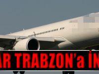 Uçaklar Trabzon'a İnemeyince Samsun'a Zorunlu İniş Yaptı.