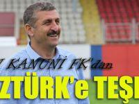 Trabzon Kanuni FK'dan Öztürk'e Teşekkür