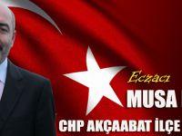 Eczacı Musa HACIOĞLU CHP Akçaabat İlçe Başkan Adayı