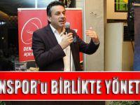 """""""Trabzonspor'u Birlikte Yöneteceğiz""""!"""