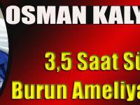 Akçaabatlı Teknik Direktör Osman Kalyoncu Burun Şikayetinden Kurtuldu..