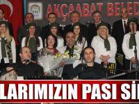 Akçaabat Belediyesi Türk Halk Müziği Korosu Muhteşem Bir Konser Verdi.