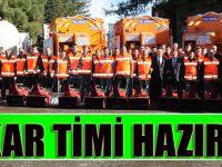 Trabzon Büyükşehir Karla Mücadeleye Hazır