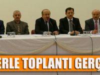 Başkan Gümrükçüoğlu otobüs şoförleriyle değerlendirme toplantısı gerçekleştirdi
