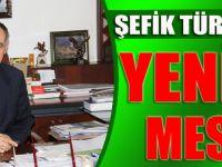 Belediye Başkanı Şefik Türkmen, 2016 Yılı İçin Kutlama Mesajı Yayımladı.