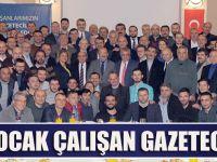 Başkan Gümrükçüoğlu Trabzon Basını İle Bir Araya Geldi