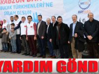 Bayırbucak Türkmenlerine 5 TIR İnsani Yardım Malzemesi Gönderildi