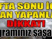 Trabzon'da Fırtına Uyarısı