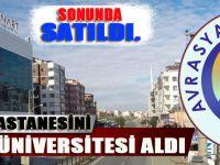 Özel Clınart Hastanesini Avrasya Üniversitesi Aldı