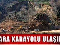 Of-Çaykara Karayolu Ulaşıma Açıldı
