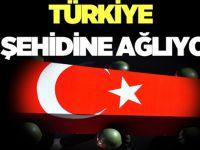 Türkiye Şehitlerine Ağlıyor.