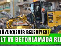 Trabzon Büyükşehir Belediyesi Asfalt Ve Betonlamada Rekor Kırdı