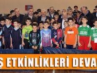 Masa Tenisi Ve Bilek Güreşi Turnuvaları Düzenlendi