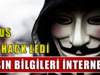 Anonymous Emniyet'i Hack'ledi, Vatandaşın Bilgileri İnternete Düştü