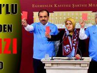 Trabzon'lu Vekillerden Kırmızı Protesto!