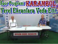 Spor Programı KARAMBOL Yerel Kanallara Veda Etti.