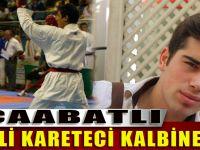 Akçaabatlı Milli Karateci Mehmet Burnaz Son Yolculuğuna Uğurlandı