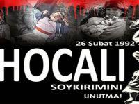 MHP Akçaabat İlçe Başkanı MİRAÇ ÇINAR'dan Hocalı Katliamı Mesajı