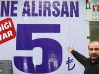 Ne Alırsan 5 Lira Kampanyasına Yoğun İlgi