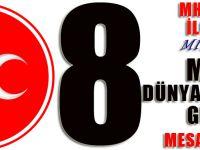 MHP Akçaabat İlçe Başkanı Miraç Çınar'dan 8 Mart Mesajı