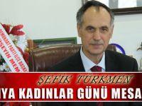 Akçaabat Belediye Başkanı Şefik Türkmen,Mesaj Yayınladı