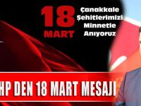 Akçaabat MHP Den 18 Mart Mesajı