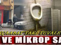 Kültür Sanat Ve Turizm Şehri Akçaabat'ın Tuvaletleri Rezalet İçerisinde