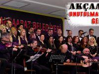Türk Sanat Müziği Korosu Akçaabat'lı Sanat Müziği Sevenleri İle  Buluştu.