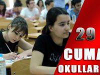 29 Nisan Cuma Okullar Tatil Mi ?