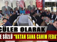 MHP Akçaabat İlçe Yönetimi Aylık Toplantısını Gerçekleştirdi