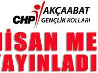 Akçaabat CHP Gençlik Kollarından 23 Nisan Mesajı