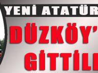 Yeni Atatürk için Düzköy'den Gittiler.