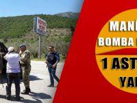 Manisa'da Yola Tuzaklanan Bomba Patladı: 1 Astsubay Yaralı