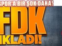 Fırtına'ya PFDK'dan Kötü Haber