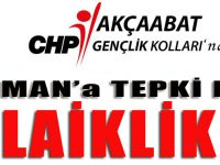 CHP Akçaabat İlçe Gençlik Kolları'ndan Kahraman'a Tepki...