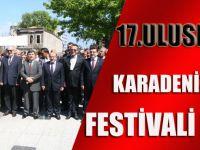 17. Uluslararası Karadeniz Tiyatro Festivali Başladı