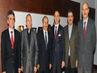 Tabipler Odası Yönetimi Başkan Gümrükçüoğlu'nu Ziyaret Etti.