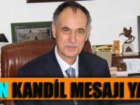 Şefik Türkmen Miraç Kandili Mesajı Yayınladı