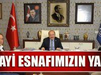 Trabzon Madeni Sanatkarlar Esnaf Odası'ndan Başkan Gümrükçüoğlu'na Ziyaret