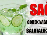 Göbek Yağlarını Eriten Salatalık Çayı Tarifi