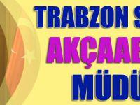 Trabzon SGK'ya Akçaabatlı  Müdür